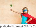 孩子 蔬菜 西兰花 47916575