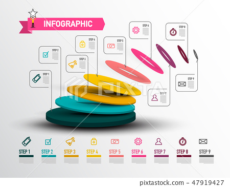 Modern Infographic Layout  Web Presentation 47919427