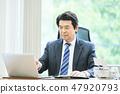 นักธุรกิจ 47920793