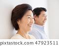 高级夫妇肖像 47923511