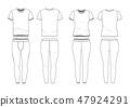셔츠, 제복, 유니폼 47924291