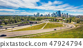 Skyline of Calgary Alberta in Canada 47924794