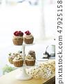 花裝飾蛋糕 47925158