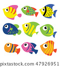 fish vector collection design 47926951