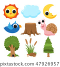 nature collection vector design 47926957