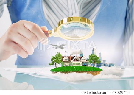 Urban and suburban life 47929413