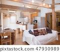 Dwelling living Dining / kitchen 47930989