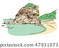 시마네 현 이즈모시 / 稲佐의 바닷가 47931073