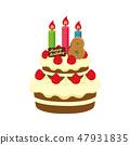 生日·生日蛋糕圖(8歲) 47931835