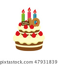 生日·生日蛋糕圖(10歲) 47931839