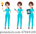 Medical doctor woman. Medicine healthcare concept. 47944109