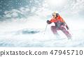 滑雪 雪 冬天 47945710