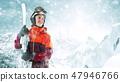 滑雪者 滑雪 雪 47946766