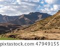 Landscape between Gheralta and Lalibela in Tigray, Northern Ethiopia, Africa 47949155