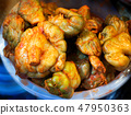 Chinese spicy fermented vegetable. 47950363