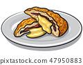 fried escalope 47950883