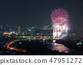 카츠 시카 납량 불꽃 놀이 부감 2018 년 7 월 촬영 47951272