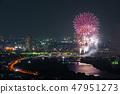 카츠 시카 납량 불꽃 놀이 부감 2018 년 7 월 촬영 47951273