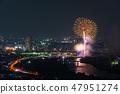 카츠 시카 납량 불꽃 놀이 부감 2018 년 7 월 촬영 47951274