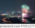 카츠 시카 납량 불꽃 놀이 부감 2018 년 7 월 촬영 47951277