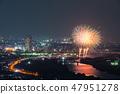 카츠 시카 납량 불꽃 놀이 부감 2018 년 7 월 촬영 47951278