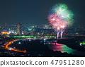 카츠 시카 납량 불꽃 놀이 부감 2018 년 7 월 촬영 47951280
