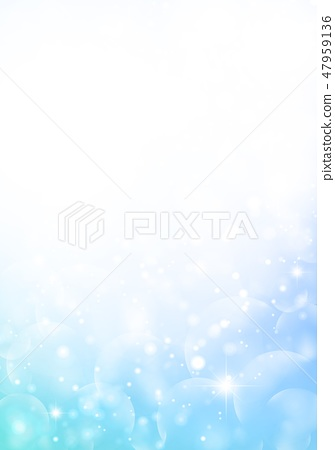 Rainbow color soap bubble background - Stock Illustration