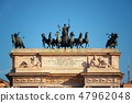Arch of Peace sculpture in Milan 47962048