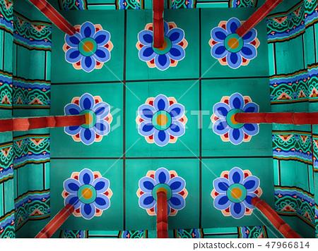 Jeollanam-do Sunchang Gangchon Mountain Park Observation Deck Ceiling Pattern 47966814