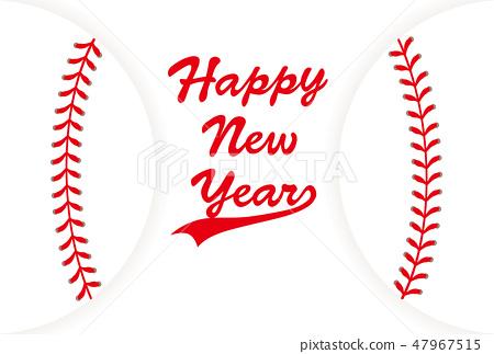 Baseball Ball Postcard 47967515