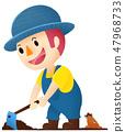 農場工作(耕作) 47968733