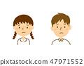 初中和高中2個麻煩的臉部胸部 47971552