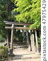 Shinto shrine 47975429