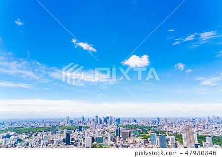【도쿄】 상쾌한 도시 풍경 (6 월) 47980846