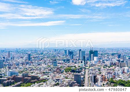 【도쿄】 도시 풍경 47980847