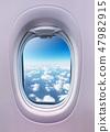 天空 窗口 窗 47982915
