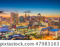 Baltimore, Maryland, USA skyline  47983163