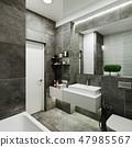 현대, 디자인, 욕실 47985567