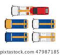 wrecker, tow truck, autocar 47987185