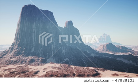 Red Rock Canyon Mountain Landscape 47989103