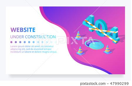 404 error web site under construction page 47990299