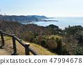 มุมมองของเมือง Zushi มุมมอง Hayama จากภูเขา 47994678