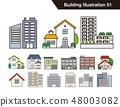 建筑图组 48003082