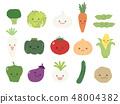 귀여운 야채 세트 2 48004382