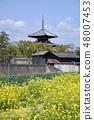 Legendary temple of spring 48007453