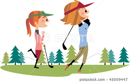 Girls' friends golf 48009447