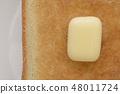 토스트와 버터 48011724