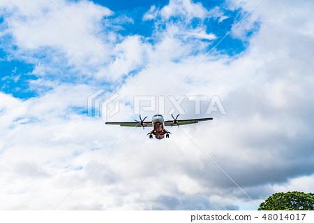 飛行天空飛行。飛行器重要的運輸工具。 48014017