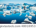Glacial lagoon in Iceland 48016953