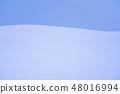 """""""北海道""""冬季美瑛·安靜的雪原 48016994"""